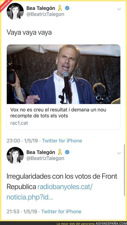 111204 - La irregularidad de votos y Beatriz Talegón