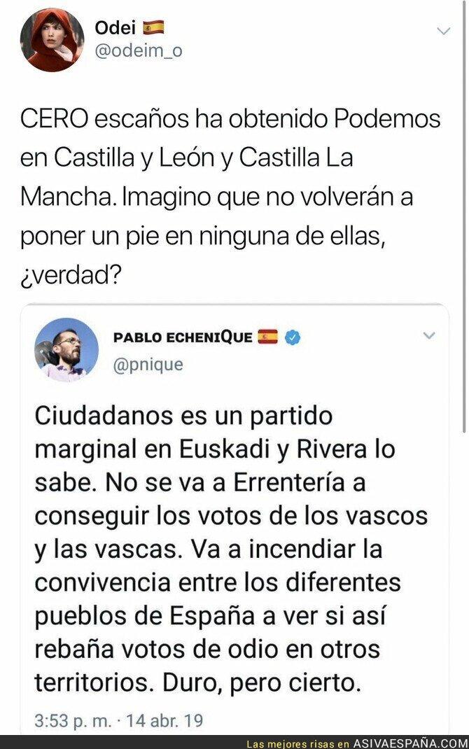 111343 - Se terminó ver a Podemos en Castilla y León y Castilla La Mancha