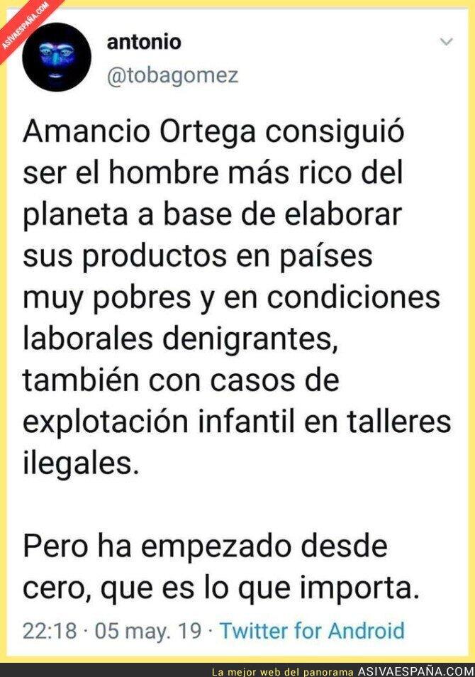 111379 - El gran mérito de Amancio Ortega