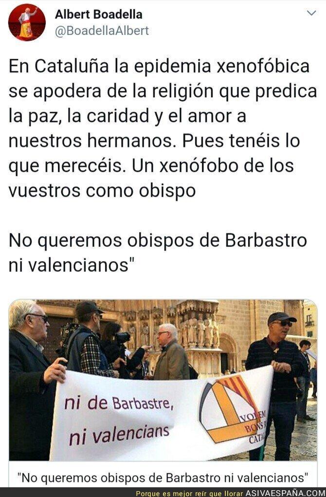 111482 - La xenofobia catalanista se apodera de la Iglesia Católica
