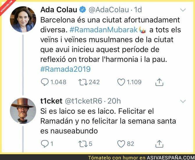 111566 - El doble rasero de Ada Colau en Barcelona