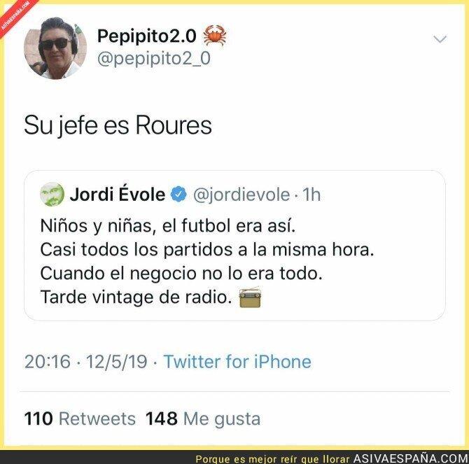 111856 - Jordi Évole criticando a su jefe sin querer