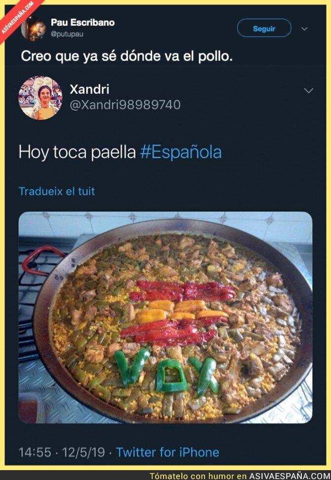 111868 - La paella más patriota