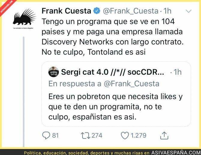 112004 - Frank Cuesta callando bocas