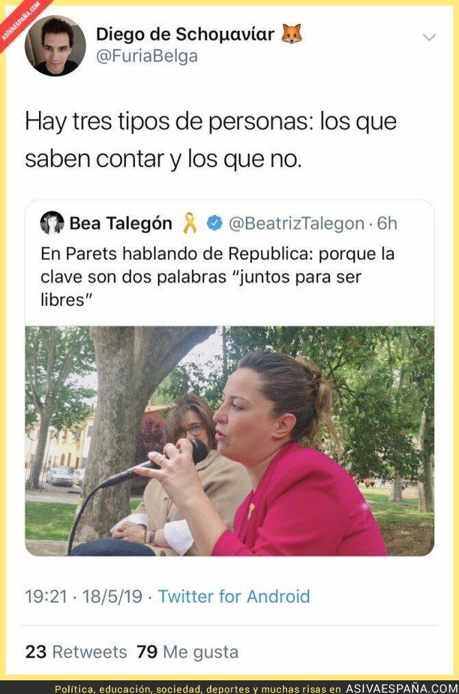 112369 - Beatriz Talegón faltó a clase bastante