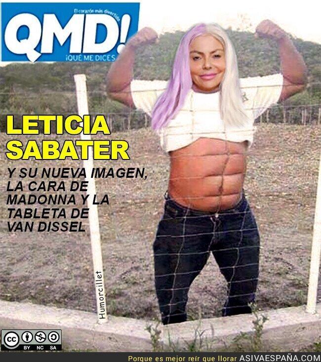 112620 - La nueva imagen de Leticia Sabater