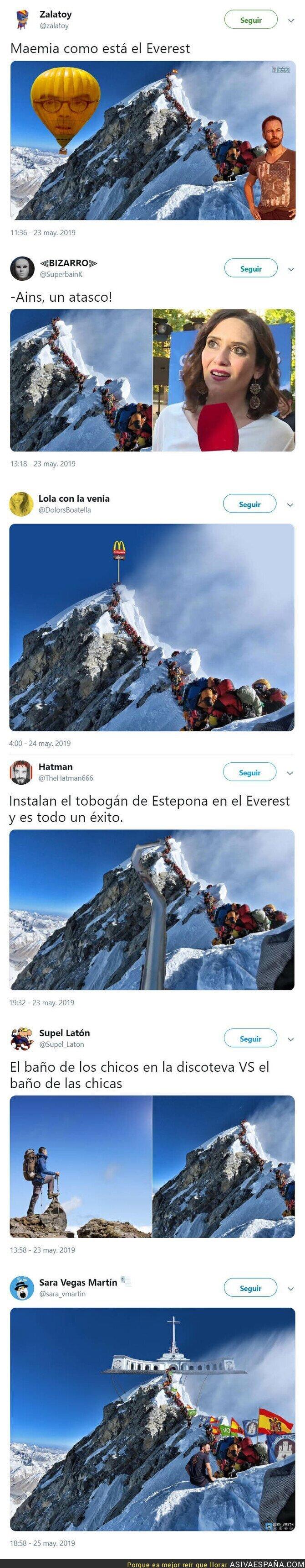 112954 - Así está el Everest desde que Carmena es alcaldesa