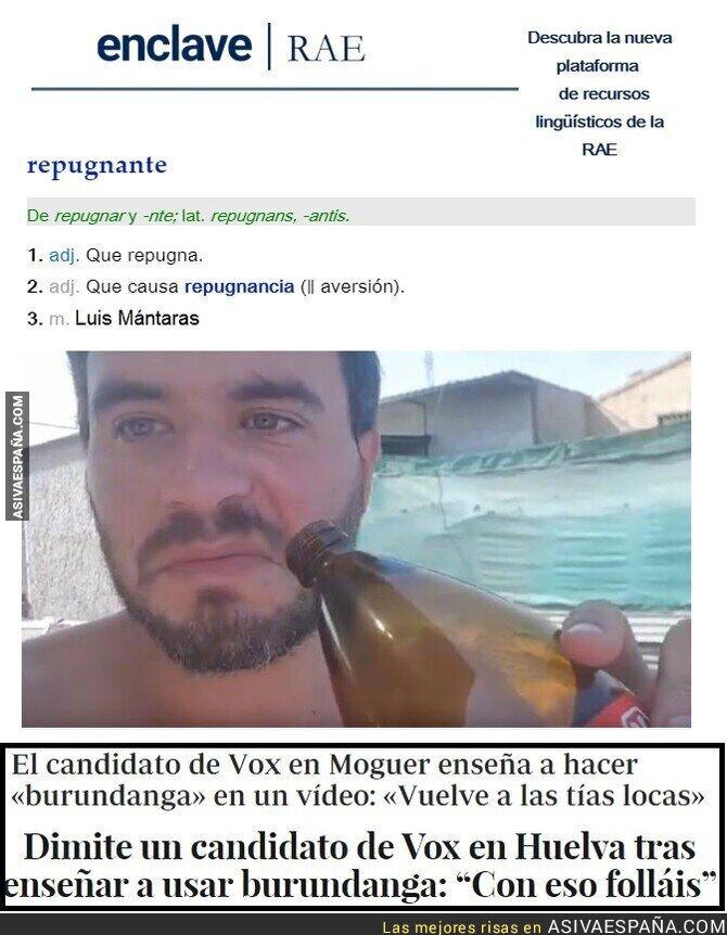 113183 - REPUGNANTE: el ex-candidato de Vox en Moguer que trapichea con burundanga (y luego dice que era broma...)