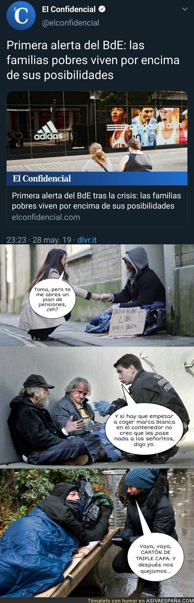 113290 - El doble rasero de los pobres