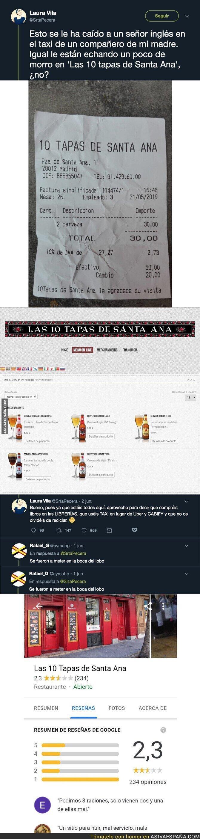 113507 - Así han estafado a un hincha del Liverpool en un bar de Madrid tras tomar 2 cervezas