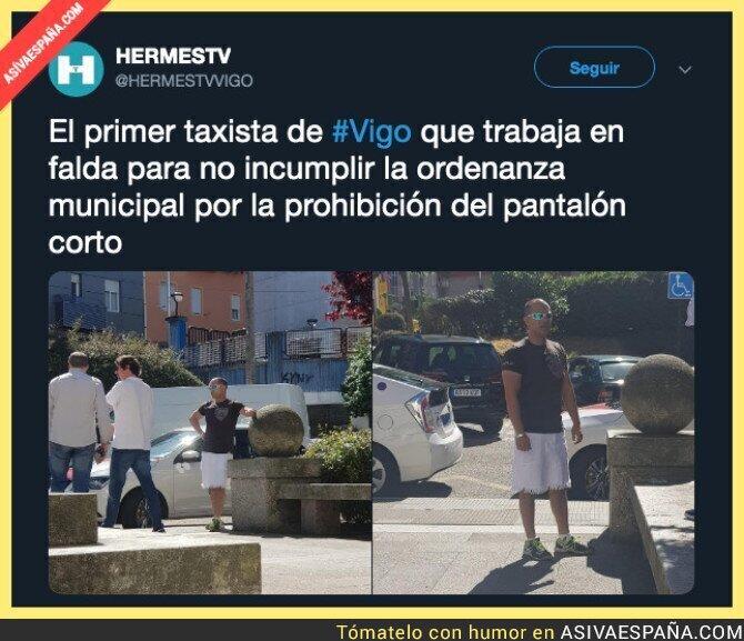 113551 - La nueva moda entre los taxistas llega a Vigo