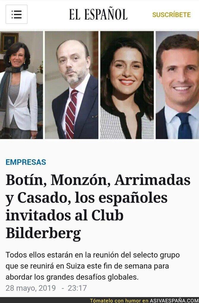 113968 - PP y Ciudadanos participaron en el Club Bilderberg