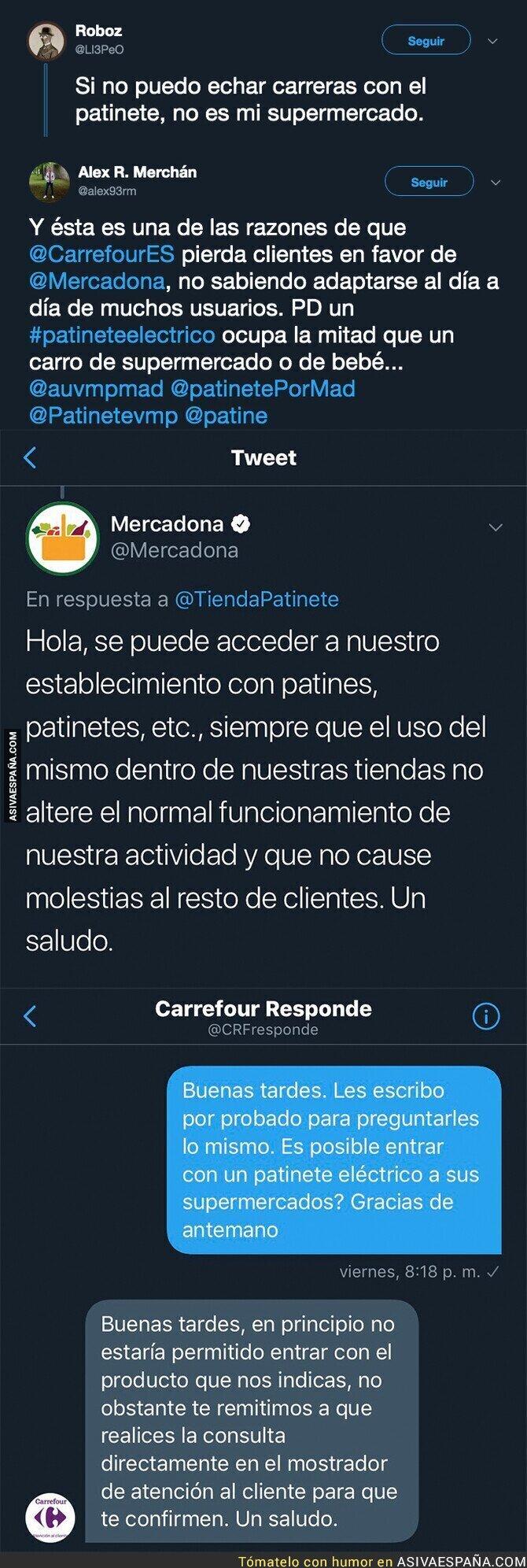 114217 - La gran diferencia entre Carrefour y Mercadona que ha indignado a un cliente