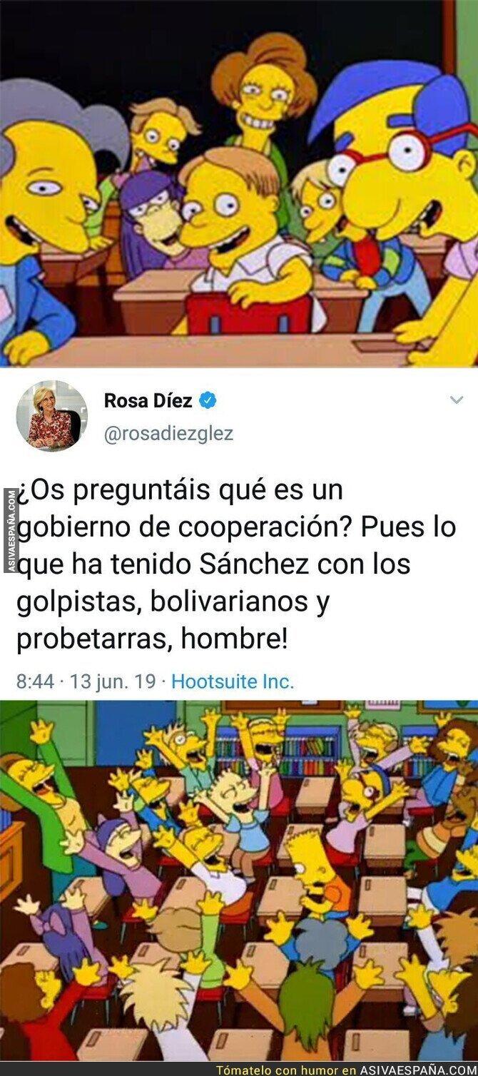 114334 - Rosa Díez no pierde oportunidad