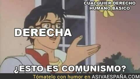 114476 - El comunismo es la obsesión de la derecha
