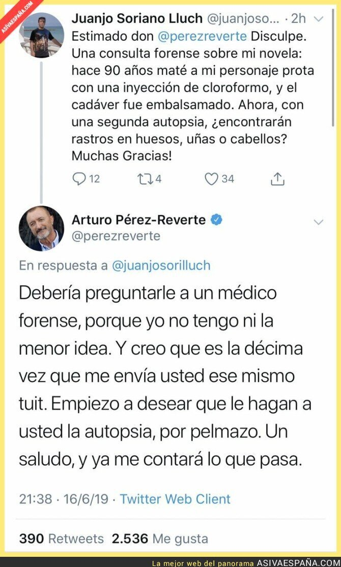 114572 - Arturo Pérez-Reverte no aguanta más