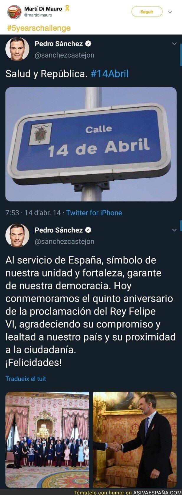 114699 - Pedro Sánchez: es republicano pero solo la puntita