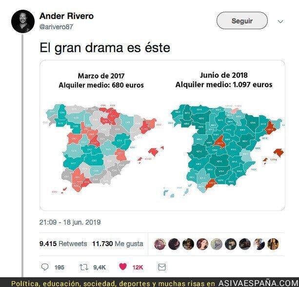 114889 - EL DRAMA DE LOS ALQUILERES EN ESPAÑA