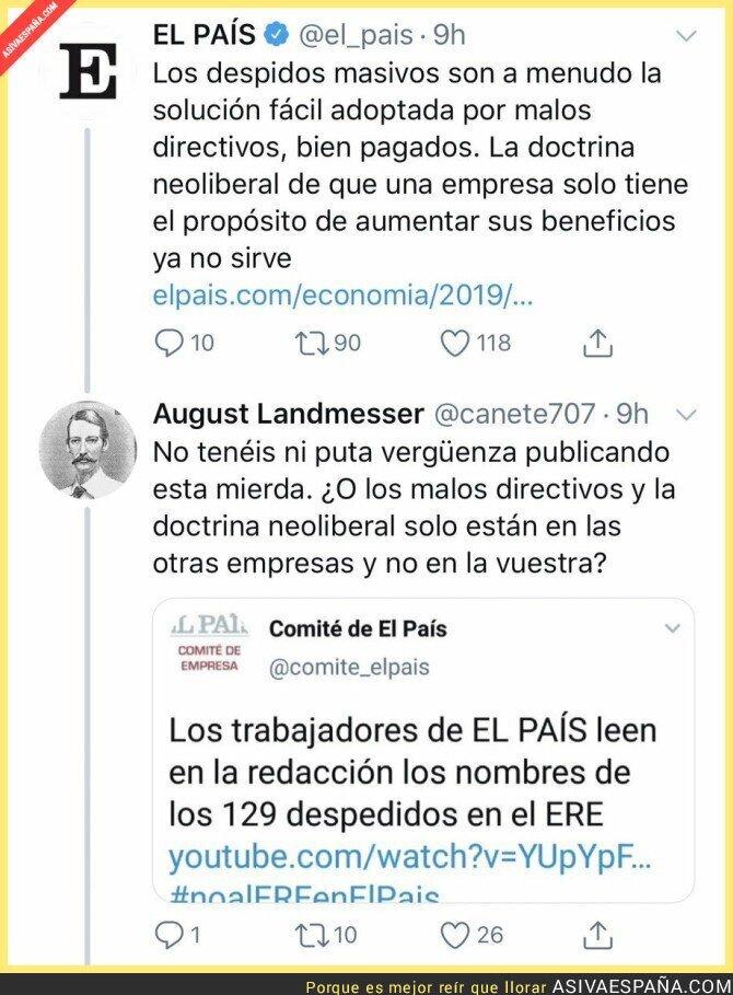 115158 - VAYA HOSTIAZO SE LLEVA EL PAÍS AL CRITICAR LOS DESPIDOS MASIVOS