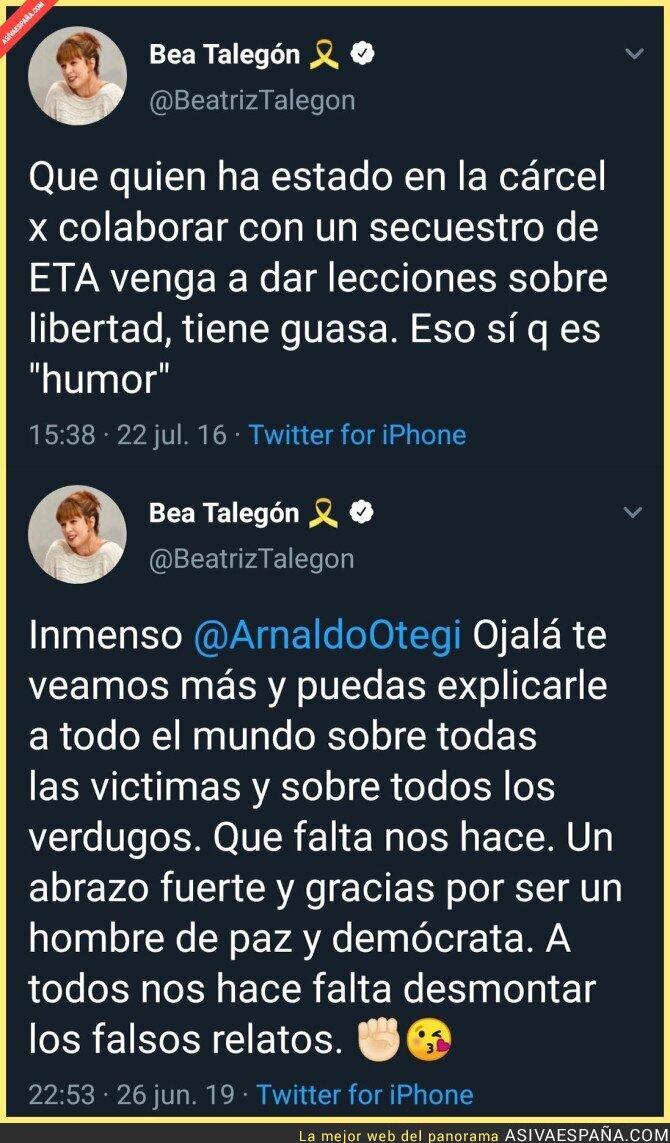 115561 - Beatriz Talegón está tan confusa que se hiere a si misma