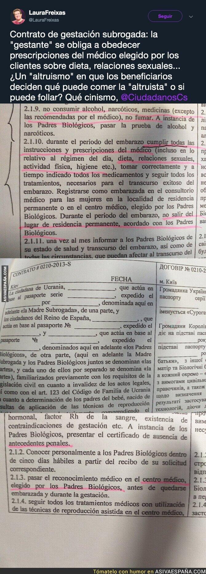 115566 - El polémico contrato de gestación subrogada