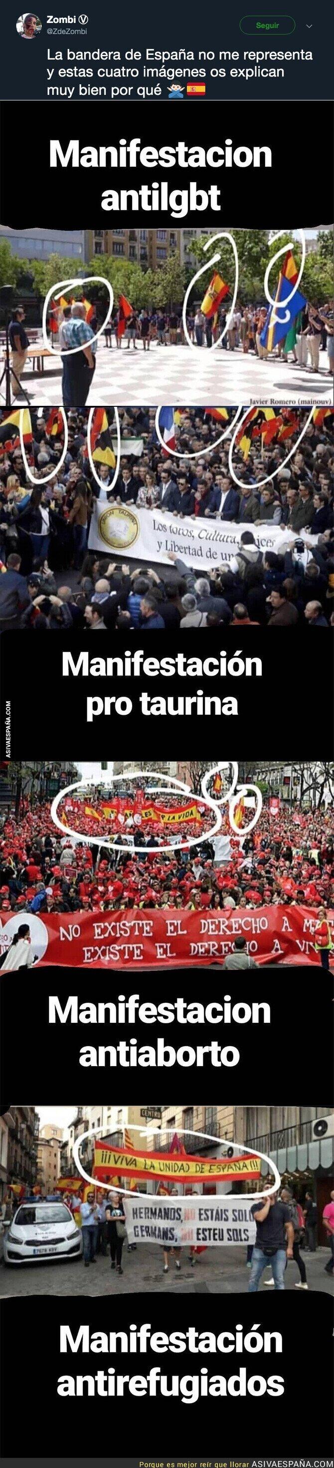 115571 - La bandera española no representa a todo el mundo