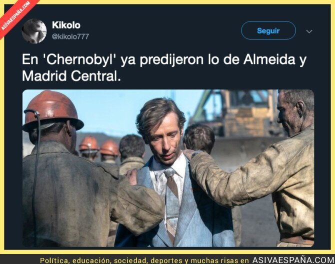 115578 - Menuda la que están liando en Madrid