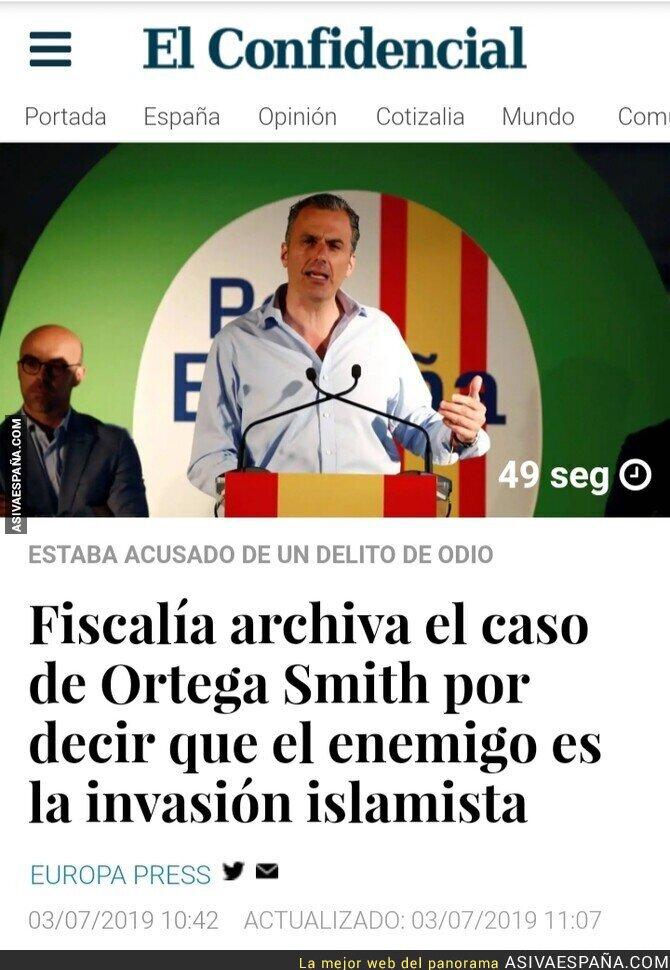 115666 - Archivada la querella contra Ortega Smith