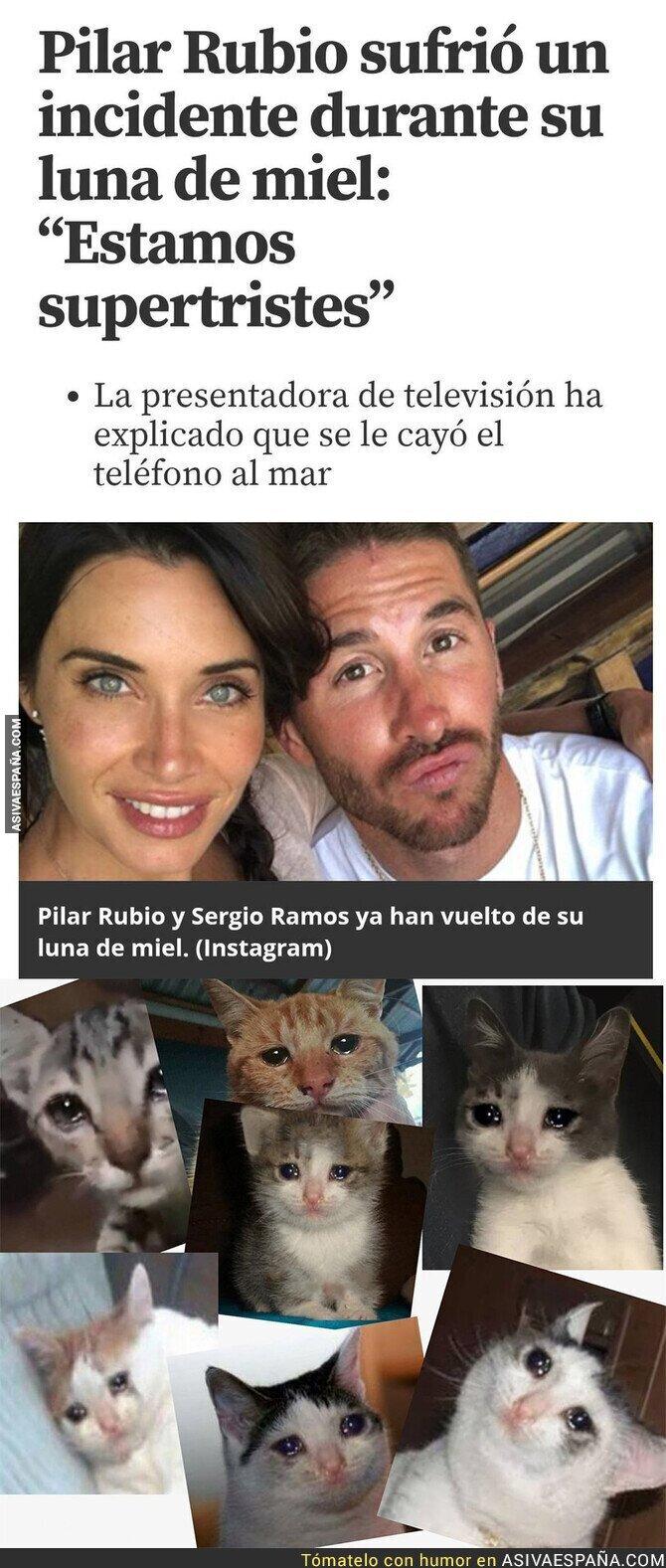 115714 - Drama en la luna de miel de Pilar Rubio y Sergio Ramos