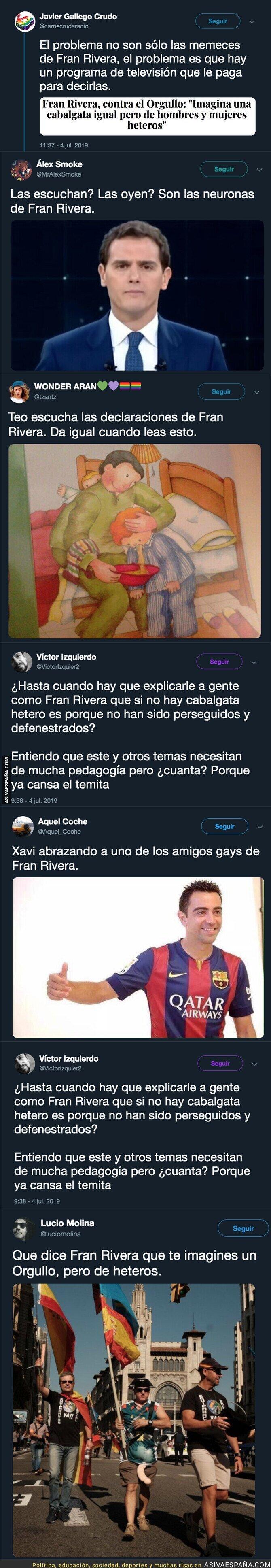 115770 - Fran Rivera la vuelve a liar con estas palabras sobre el 'Orgullo'