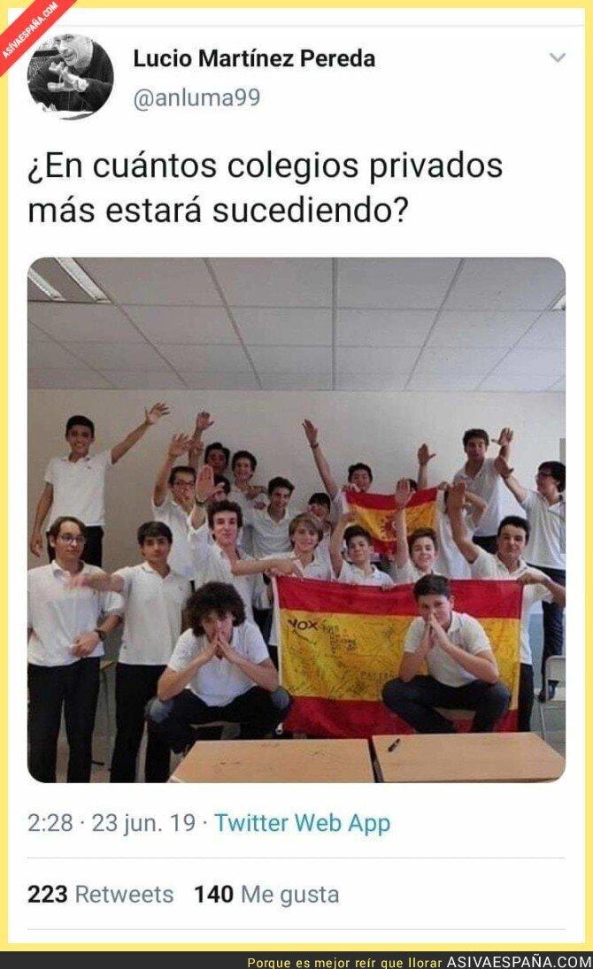 115809 - El adoctrinamiento en las escuelas españolas