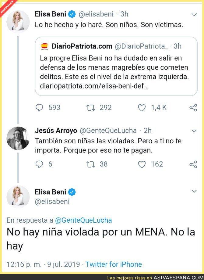 116137 - Elisa Beni y su defensa de los menas
