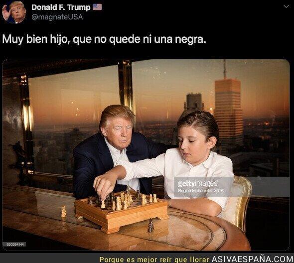 116724 - Magnífica jugada del hijo de Trump