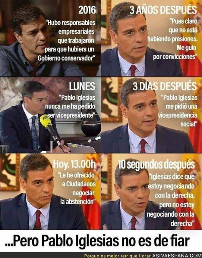 116752 - Simplemente Pedro Sánchez y el PSOE