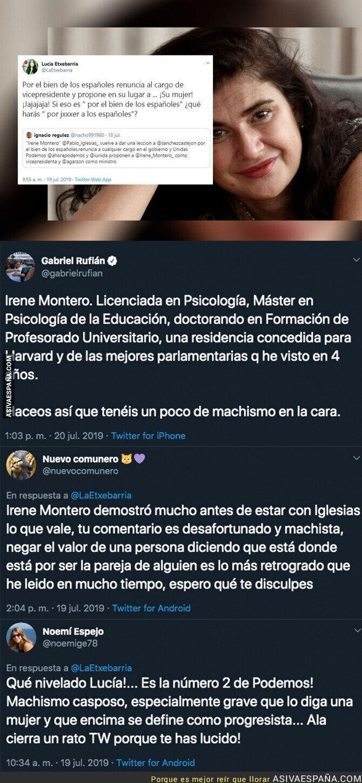 116964 - El repugnante comentario de Lucía Etxebarría sobre Irene Montero que todo el mundo está criticando y por el que se ha puesto la cuenta privada
