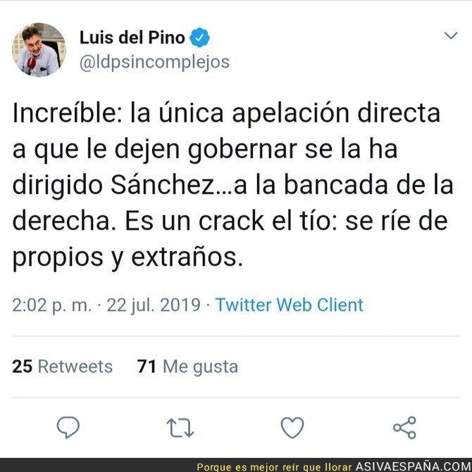 117011 - La coherencia de Pedro Sánchez es legendariamente conocida
