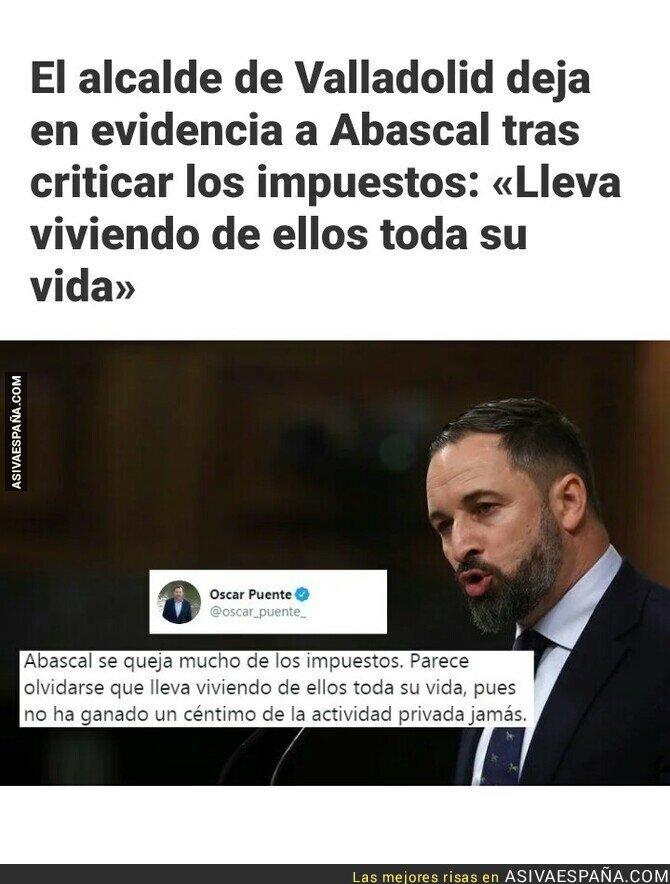 117300 - Santiago Abascal y su queja sobre los impuestos