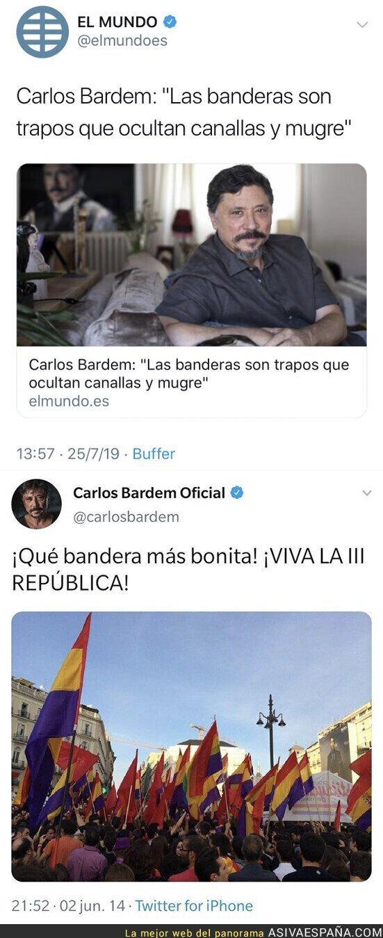 117364 - Carlos Bardem y las banderas