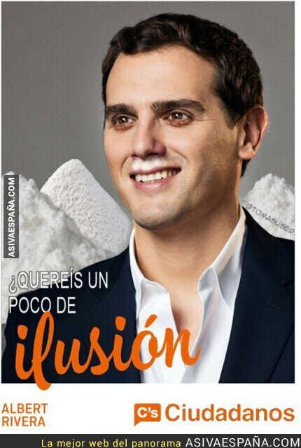 117418 - Albert Rivera prepara su cartel de campaña para unas posibles nuevas elecciones
