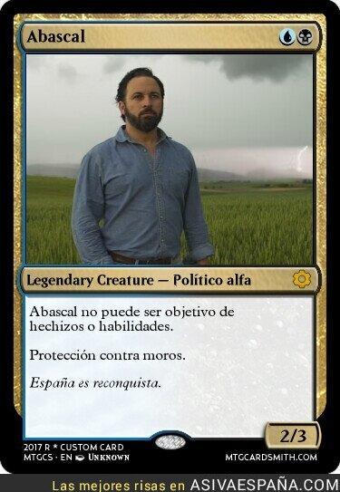 117436 - La Abascal es la master card de la política española