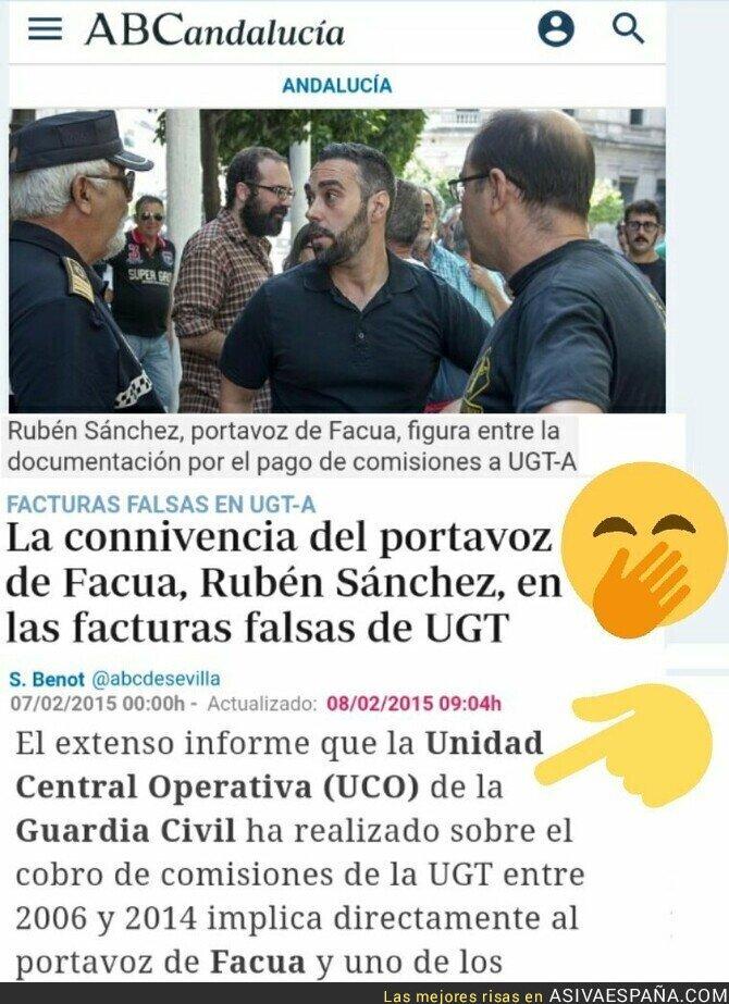 117450 - Facua es cómplice de la corrupción de la UGT-PSOE