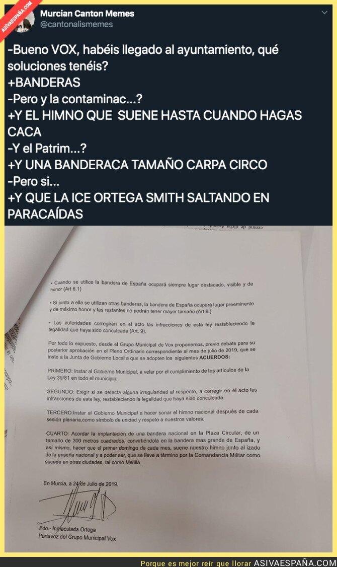 117663 - Los planes de VOX en Murcia