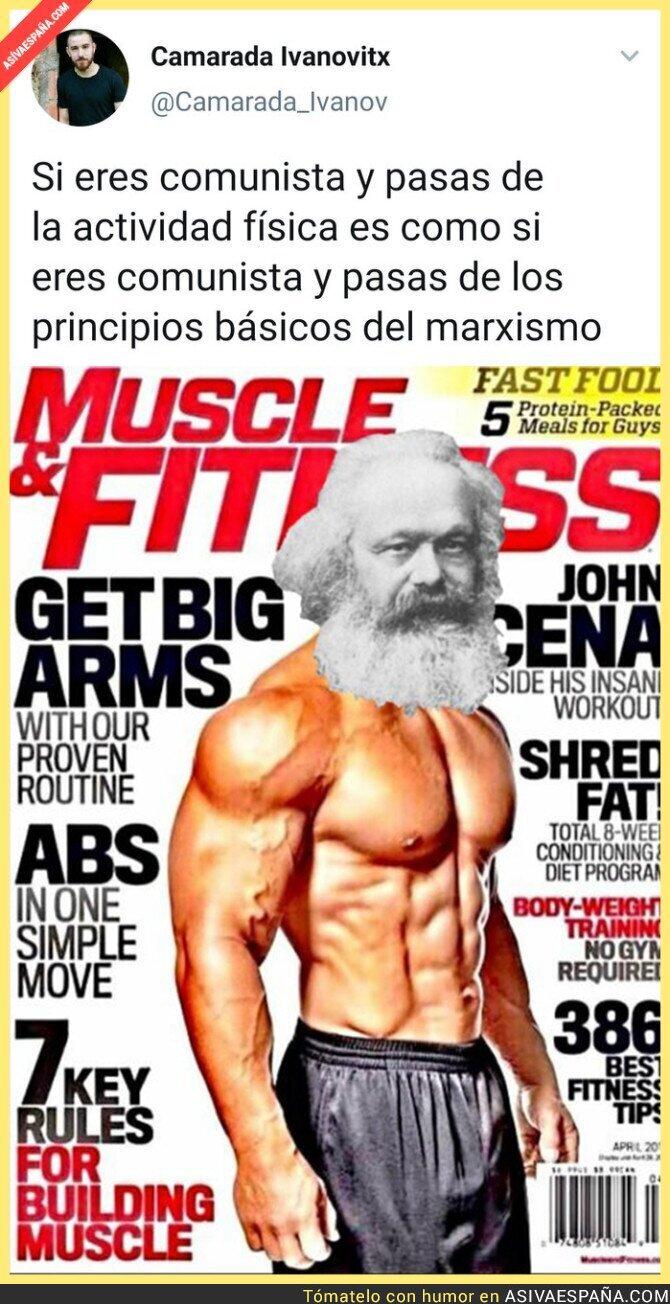 117778 - El gimnasio es importante si eres comunista