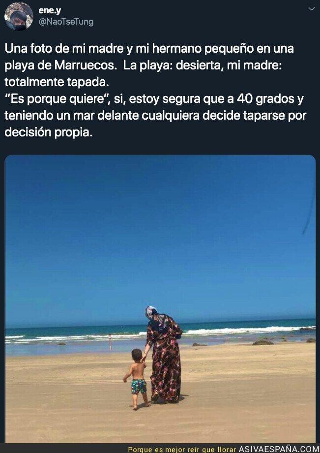 118251 - La terrible situación a la que se enfrentan muchas mujeres musulmanas en las playas