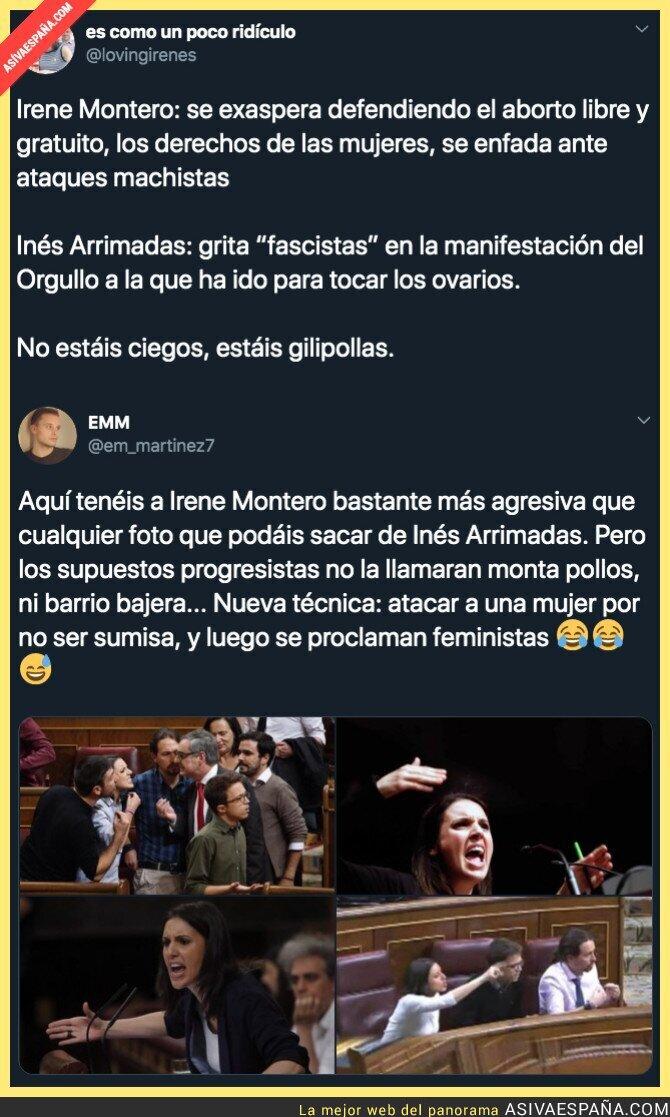 118265 - El motivo de los enfados de Irene Montero en el Congreso