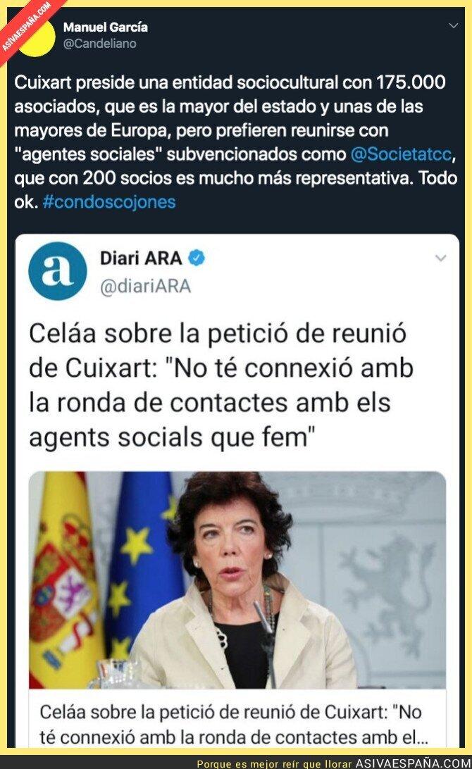 118269 - El Gobierno sigue sin querer escuchar a los catalanes