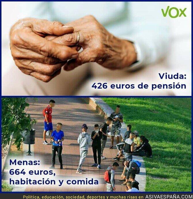 118375 - Las ayudas a los españoles y a los delincuentes extranjeros (Según VOX)