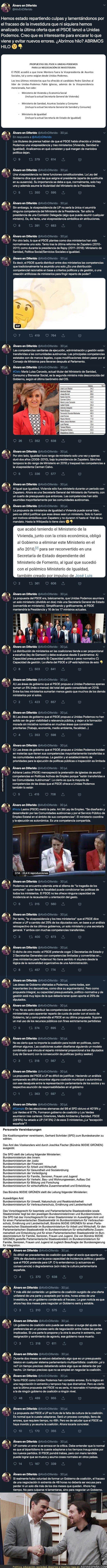 118418 - El hilo que desvela todas las trampas del PSOE a Podemos en la negociación para formar Gobierno