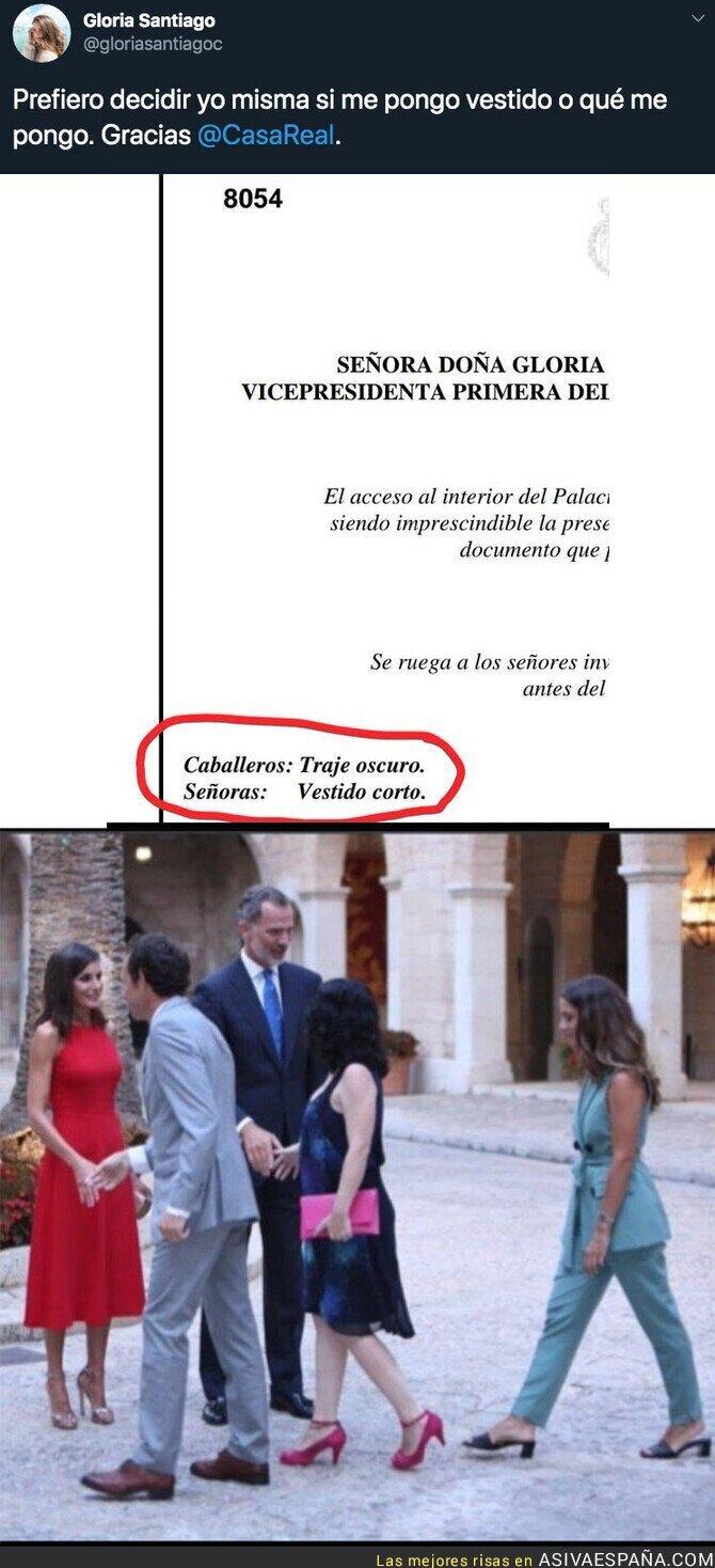 118427 - Rebelión en la recepción de los Reyes en Mallorca