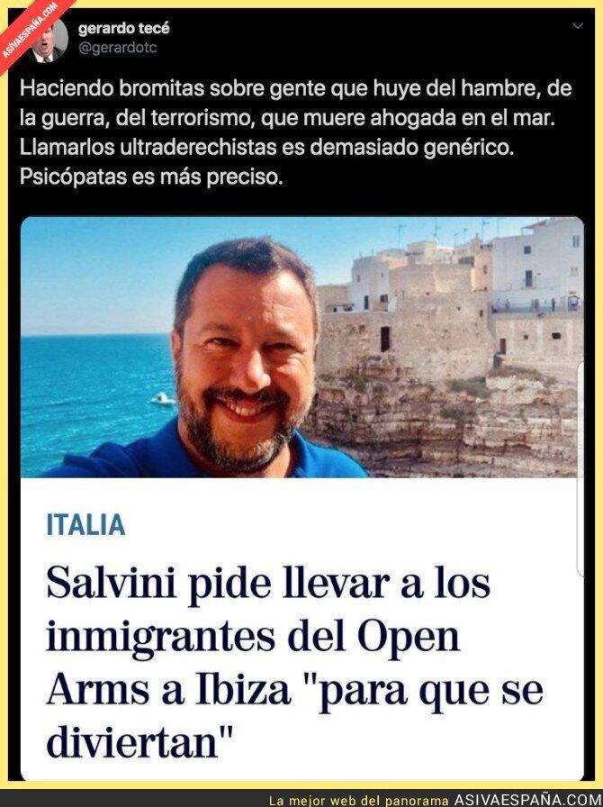 118603 - Un psicópata llamado Salvini